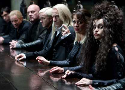 Baddies from Harry Potter and the Deathly Hallows Part 1