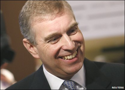 Fourth in line: Prince Andrew, the Duke of York (born 1960), the Queen's second son.