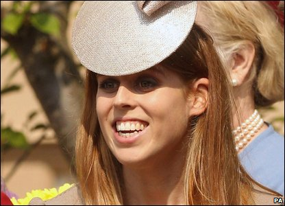 Fifth in line: Princess Beatrice of York (born 1988), the elder daughter of Prince Andrew.