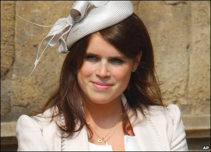 Sixth in line: Princess Eugenie of York (born 1990), the younger daughter of Prince Andrew.
