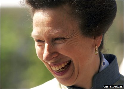 Tenth in line: Princess Anne, the Princess Royal (born 1950) - she's the Queen's only daughter.