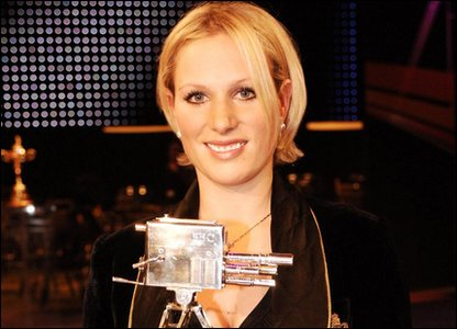 Thirteenth in line: Zara Phillips (born 1981), daughter of Princess Anne.