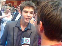 Robbie Kay with Ricky
