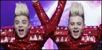 Jedward, John and Edward Grimes