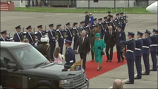 The Queen visits the Republic of Ireland