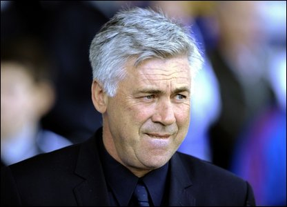 Former Chelsea manager Carlo Ancelotti
