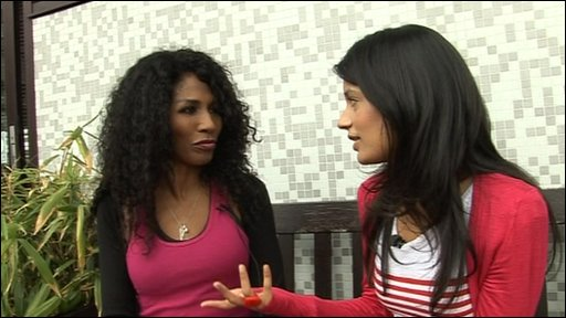 Sonali chats to Sinitta