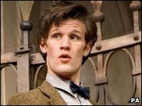 Matt Smith plays Doctor Who