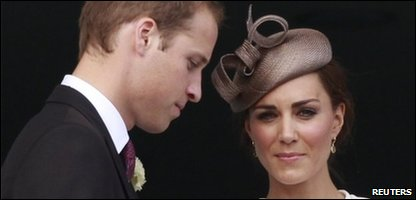 The Duke and Duchess of Cambridge, Prince William and Kate