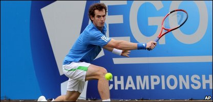 Andy Murray cruising through to the last 8