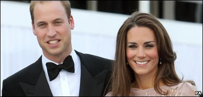 The Duke and Duchess arrive at the fancy dinner