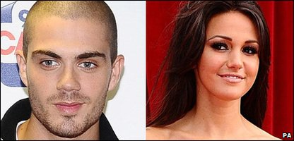 Max George from The Wanted and Michelle Keegan, who plays Tina McIntyre in Coronation Street