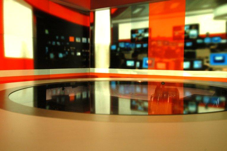 A BBC News Set