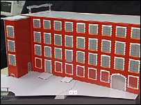 Model of the Maryhill factory