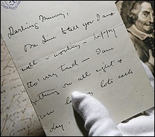 Winston Churchill's handwriting