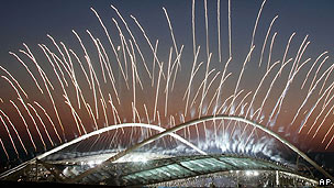 The opening ceremony at the Athens Olympics