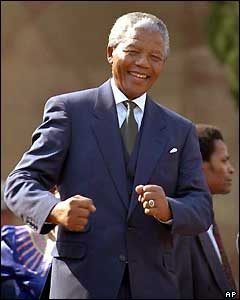 Link to OTD Mandela inugurated president