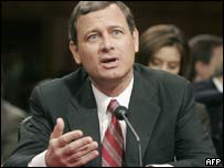 US Chief Justice John Roberts