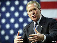 Bush re-elected