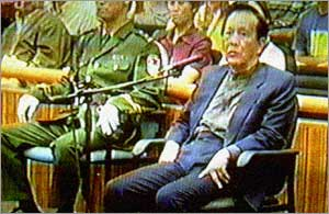 Cheng Kejie, a former deputy chairman of the national legislature, is sentenced to death, 31 July 2000, in Beijing.