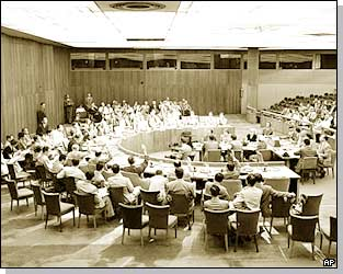 UN Security Council meeting, 25 June, 1950