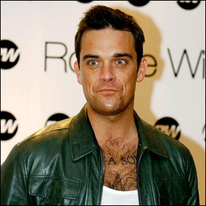 Image of Robbie Williams royalty images
