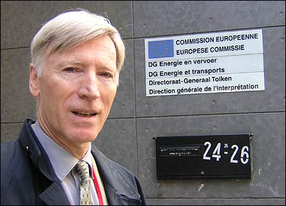 EU interpreter Philippe Gratier in Brussels