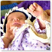 Baby born in Halabja since 1988 attack