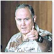Gulf War commander Norman Schwartzkopf