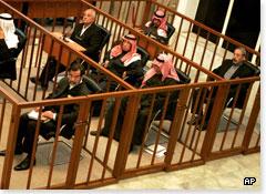 Saddam Hussein and co-defendants