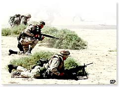 US marines in Kuwait