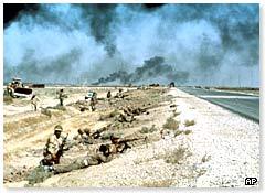 Iraqi troops fighting in Iran