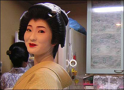 Right! bbc life as geisha are not