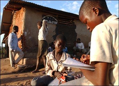 Crianças com Sida em África
