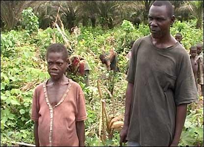Pygmy slaves