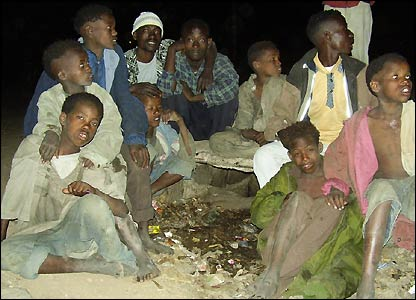 Street children in Ethiopia