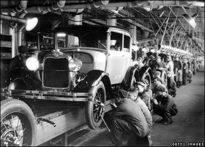 BBC NEWS | Photo journal: Rise and fall of mass production, Fordism