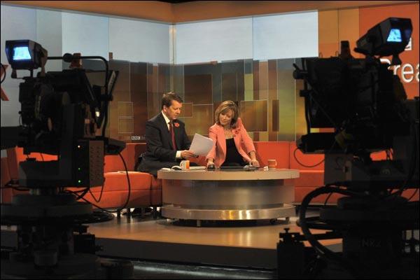 Bbc Picture: In Pictures : Inside BBC Breakfast, Studio TC7