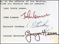 letter for a friend news entertainment beatles split letter auctioned 48000