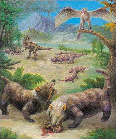 130-million-year-old mammals found in China.
