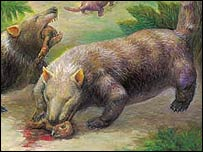 These early mammals were predators, feeding on young psittacosaurs