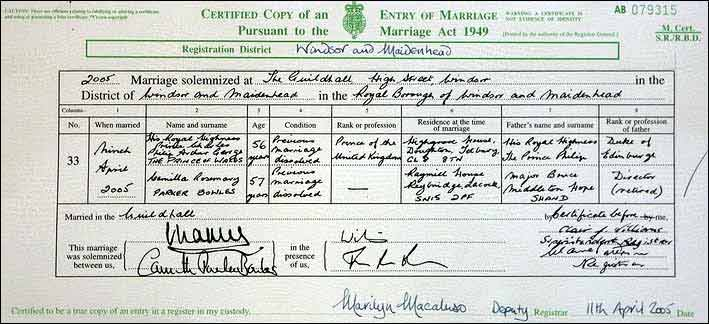 Marriage Certificate Uk Template Image Gallery - Hcpr