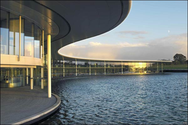 bbc news in pictures favourite modern buildings mclaren