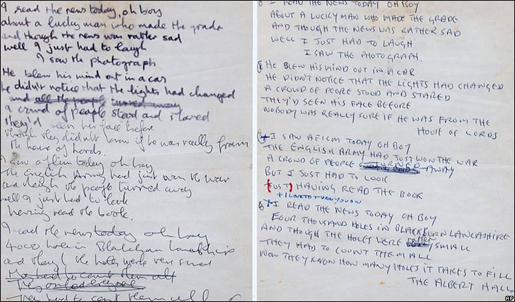 jimi hendrix handwriting A bottle of wine and a handwritten lyric sheet is displayed in a recreation of jimi hendrix's bedroom as part of the handel and hendrix exhibition photo: ben.
