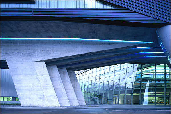 Bbc News In Pictures Olympic Architect Zaha Hadid Bmw Central Building