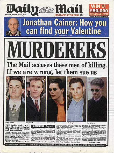 Stephen Lawrence's Killers