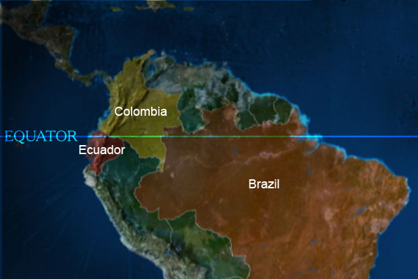 BBC News  In pictures Equator Latin America Latin America