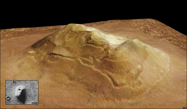 nasa mars volcano biggest one - photo #19