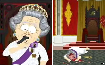 The Queen is Dead. Long Live Comedy.