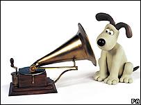 Bbc News Entertainment Gromit Steps Into Hmv Logo Role